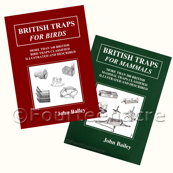 British Traps for Bird & Mammals bundle