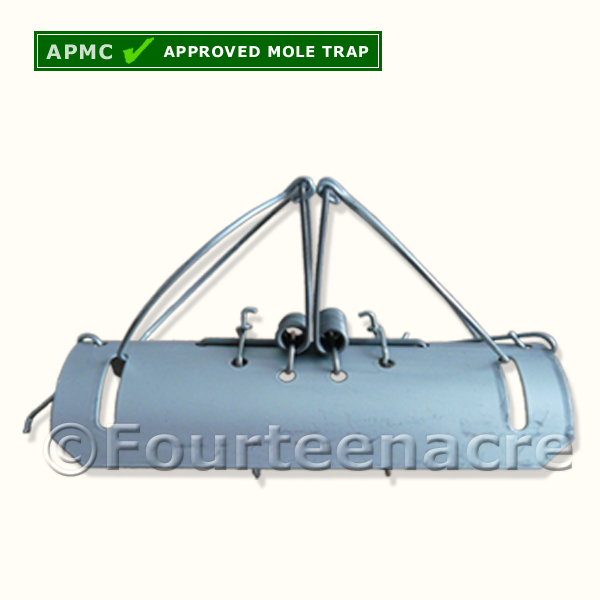 Half Barrel Mole Trap