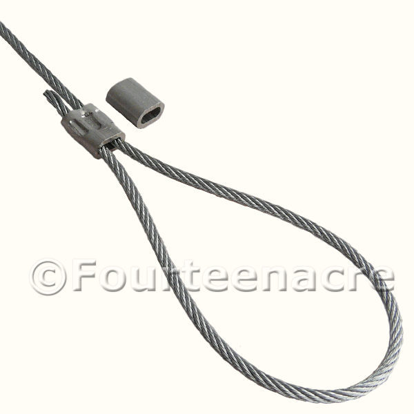 Fox Snare Wire Galvanised