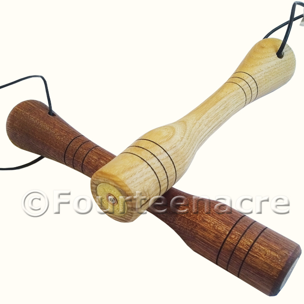 Handmade Wooden Game Priests
