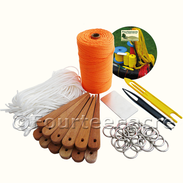 Net Making Starter Kit &DVD B&Y