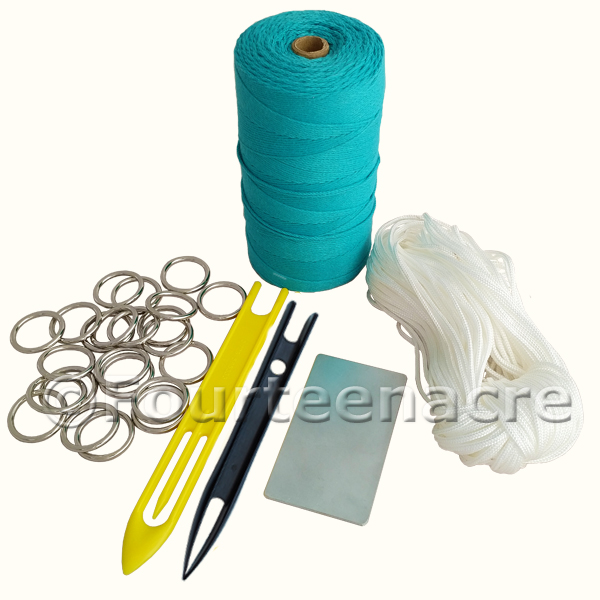 Net Making Starter Kit - no pegs B&Y