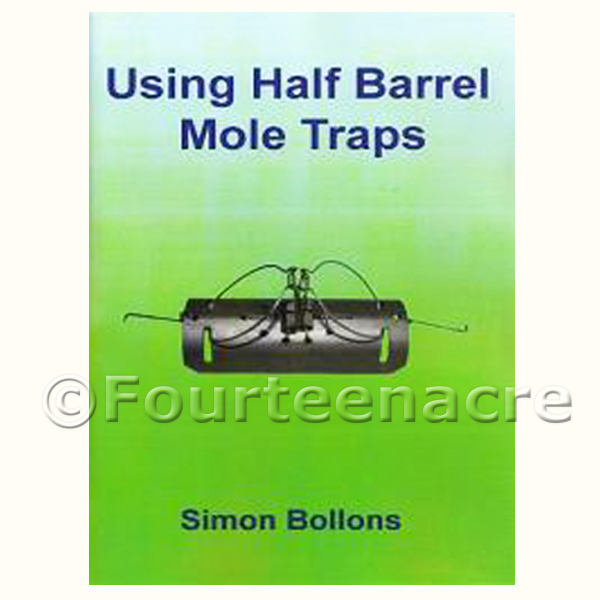 Using Half Barrel Mole Traps