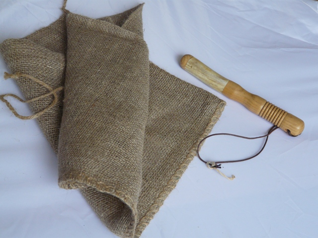 Hessian dispatch sack